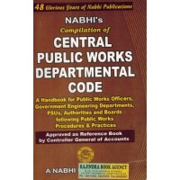 C.P.W.DEPARTMENTAL CODE (NABHI'S)