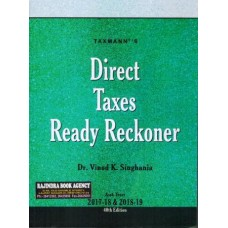 Direct Taxes Ready Reckoner (A.Y 2017-18 & 2018-19)