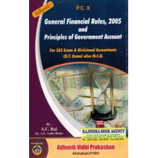 PC-8  GENERAL FINANCIAL RULES AND PRINCIPLE OF GOVT. ACCOUNTS