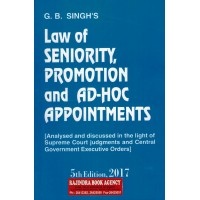 Law of Seniority, Promotion and Ad-Hoc Appointments