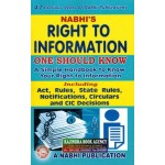 Right to Information One Should Know