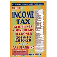 Income Tax Guidelines and Mini Ready Reckoner  2018-19 2019-20